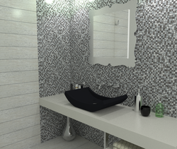 Mexical Modern Classic Bathroom Boxer Mosaics
